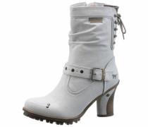 Shoes Schnürstiefel dunkelbraun / grau / offwhite