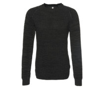 Pullover 'Suzaki r knit l/s' schwarz