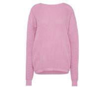 Oversized Pullover mit weitem Ausschnitt 'lc0108' pink