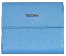 Nola 104 Geldbörse Leder 12 cm blau