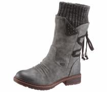 Stiefel grau / dunkelgrau