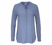 Klassische Bluse »Radia1« blau