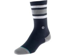 Sneakersocken Herren navy / grau / weiß