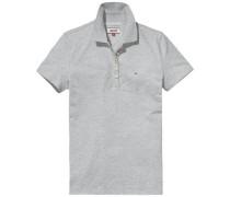Poloshirt 'thdw Basic Polo S/S 11' grau