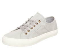 Sneaker 'Zoe' in Low-Rise silbergrau