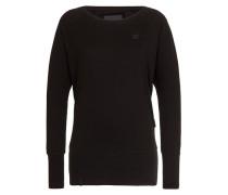 Sweatshirt 'Black Groupie II' schwarz