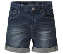 Jeansshorts SUE super stretch für Mädchen Bundweite BIG blue denim