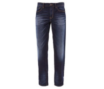 Scube Relaxed: Dunkle Jeans blau