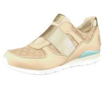 Sneaker »Annetta« beige / gold