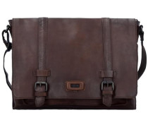 Belt Messenger Bag Tasche Leder 38 cm Laptopfach