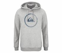 Kapuzensweatshirt »Crucialbattlesh« grau