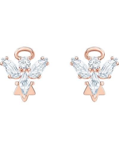 Ohrhänger 'Magic' rosegold / weiß