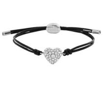 Armband schwarz / silber