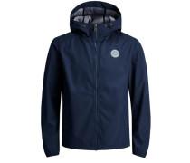 Lässige leichte Jacke blau