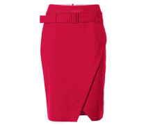 Bodyform-Hochbundrock rot
