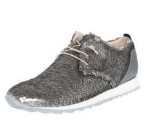 Sneaker mit Pailletten weiß