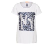 T-Shirt 'Talmaya' weiß