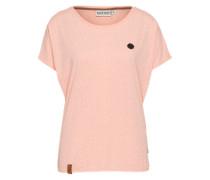 Shirt mit Sternprint 'Detroit House' pink