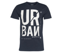 T-Shirt 'Gere' dunkelblau