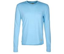 Longsleeve Pocket A blau