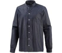 Langarmhemd 'Sierk' blau