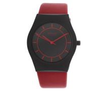 Armbanduhr 32035-649-1 rot / schwarz
