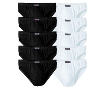 Basic Slips (10 Stück) schwarz / weiß