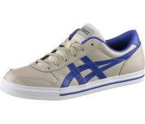 'aaron' Sneaker Herren beige / blau