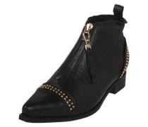 Ankle Boots 'Anna Studs'gl gold / schwarz