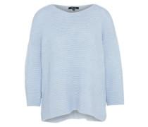 klassischer Pullover hellblau