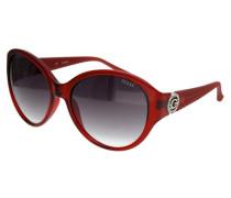 Damen Sonnenbrille Rot Gu7347-Bu-35-60 rot