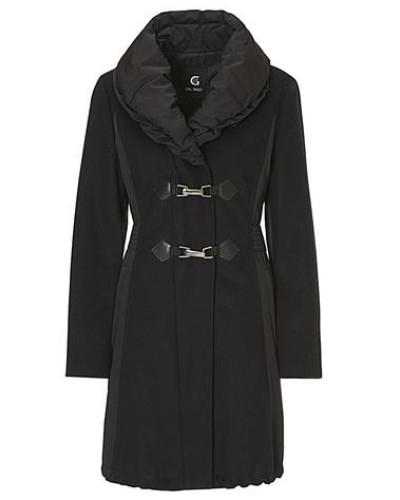 eleganter Mantel schwarz