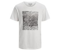 T-Shirt weißmeliert