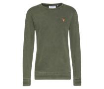Sweatshirt 'Ian' oliv