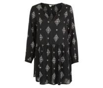 Kleid 'Sunkissed daze' schwarz / weiß