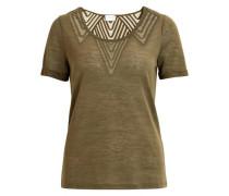 Feminines T-Shirt grün