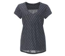 Print-Shirt 'Samo diamond SP' blau / mischfarben