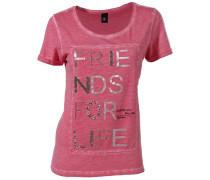 Druckshirt pink