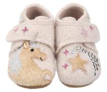 Baby Hausschuhe für Mädchen Einhorn