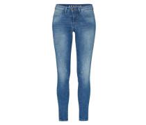 Slimfit Jeans 'Spray Helix' blau