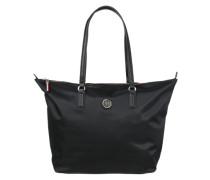 Tote-Bag 'Poppy' aus Nylon schwarz