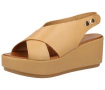 Sandale hellbraun