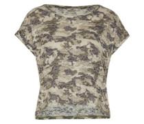 T-Shirt 'Tewido' khaki / mischfarben