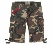 Shorts 'Jet' oliv