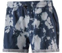 Shorts 'Ambrose' blau / weiß