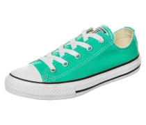 'Chuck Taylor All Star Fresh Colors OX' Sneaker Kinder smaragd