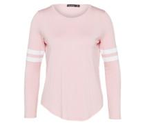 Langarm Shirt 'Shona Baseball' rosa