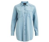 Langarmhemd Jeans hellblau