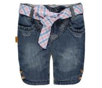 Jeans-Kniebundhose Mädchen Baby