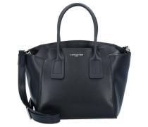 'Stella' Handtasche Leder 24 cm schwarz
